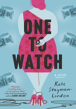 A book cover showing the back of a woman in a dress with the title One to Watch