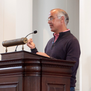 David Brooks (photo by Hao Lieu '16)