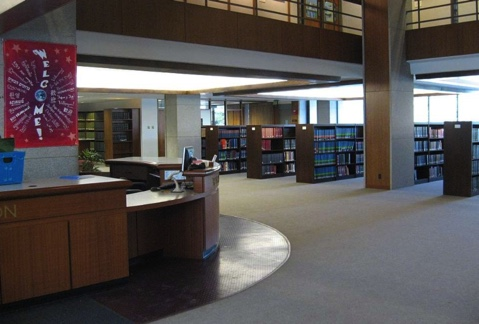 Inside of library