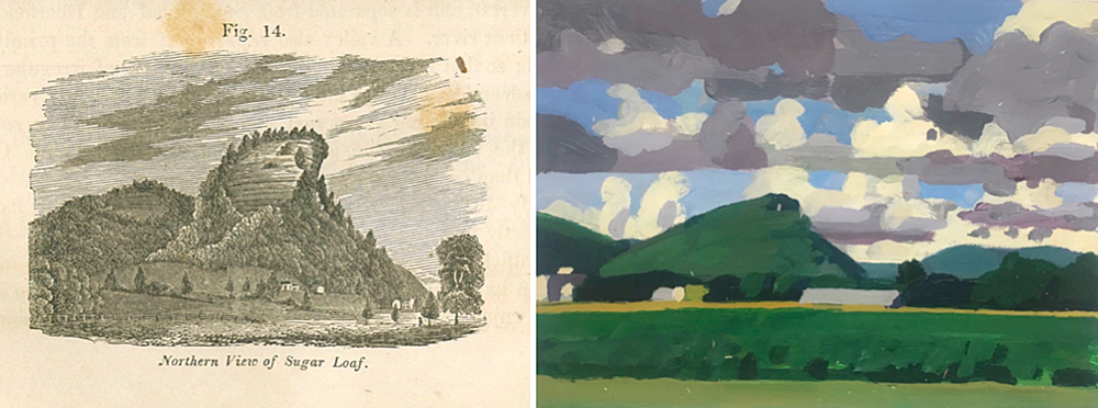 Paintings by Hitchcock and Gloman
