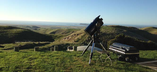 Field Telescope in New Zealand