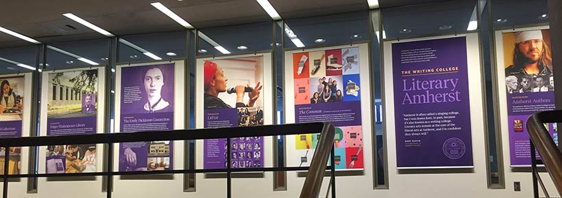 Exhibit in Frost Library