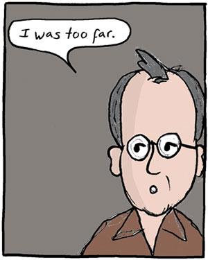 Ilan Stavans cartoon