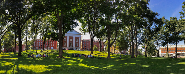 Johnson Chapel and the Quad