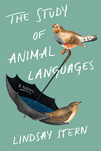 The book jacket for The Study of Animal Languages by Lindsay Stern