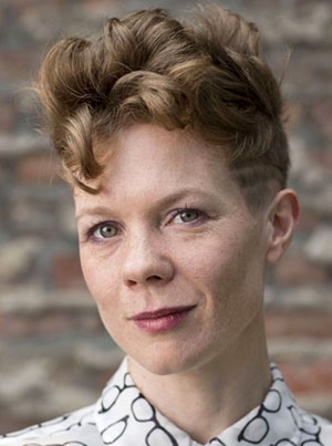 A portrait of Jenna Riegel