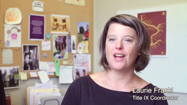 Laurie Fankl, Title IX Coordinator