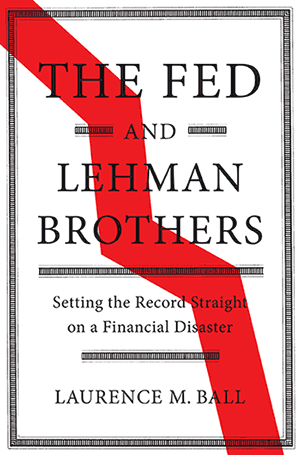 The Fed and Lehman Brothers book cover