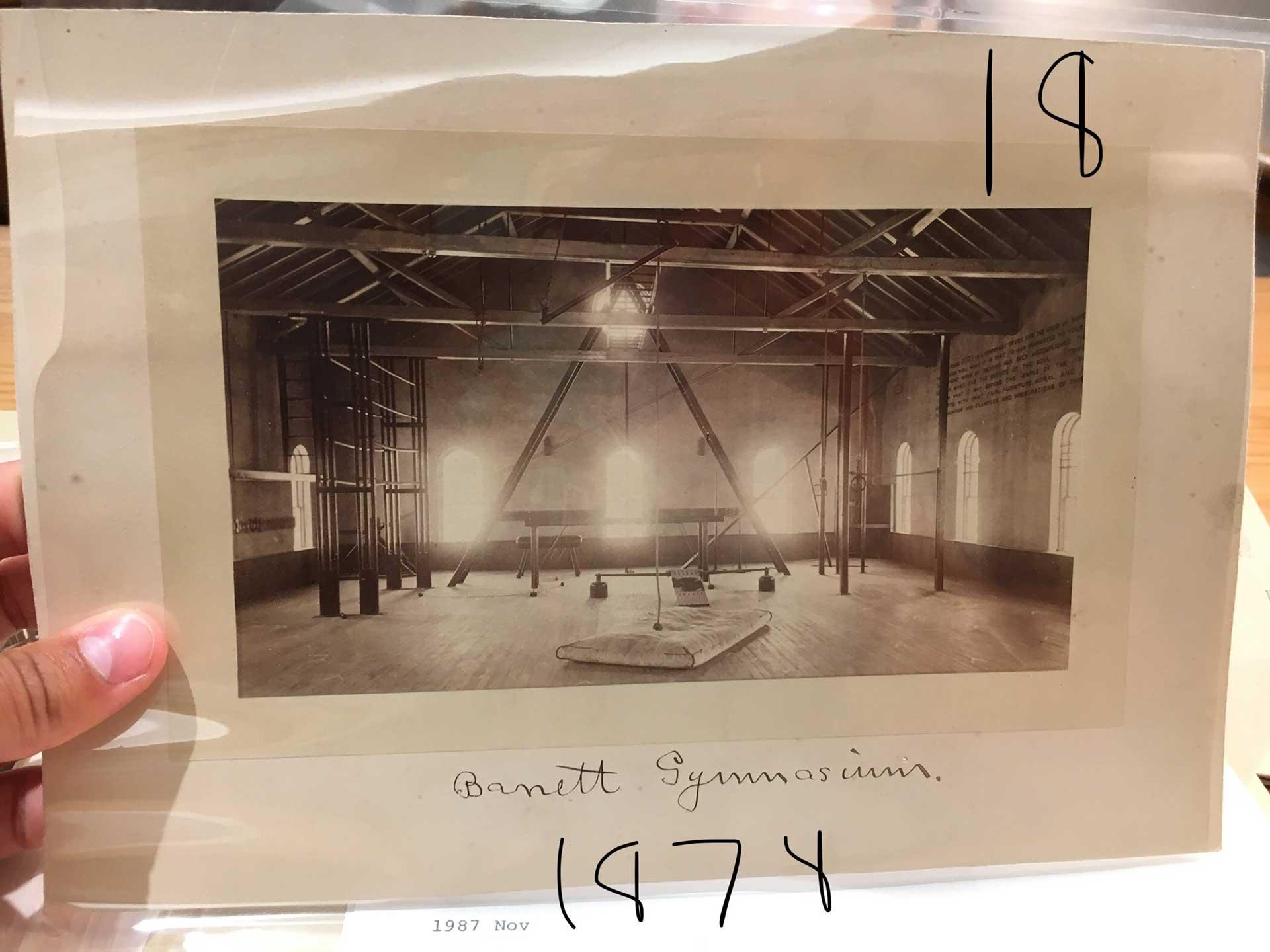 Barrett Gymnasium 1878