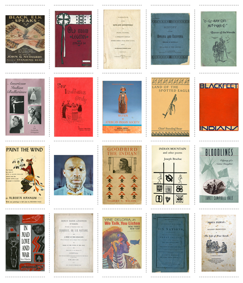Grid of 20 book covers
