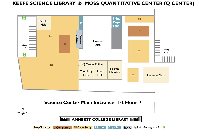 Science Library Floormap