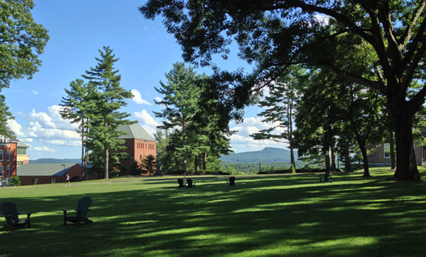 The Quad in August