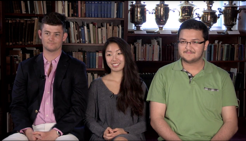 Rachel Nghe, Andrew Knox and Servet Bayimli