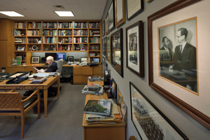 Robert Morgenthau's office is a US History exhibit