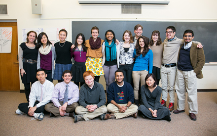 Class portrait of Rethinking Education, a CCE Interterm course.jpg