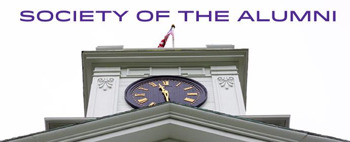 Society of the Alumni Banner