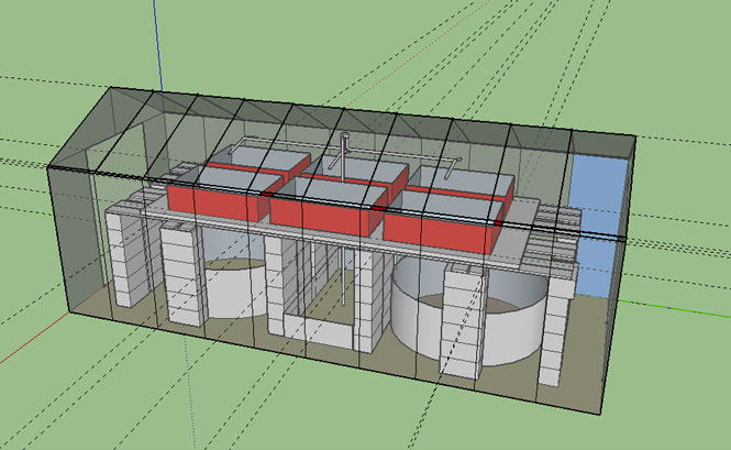Plans for the greenhouse