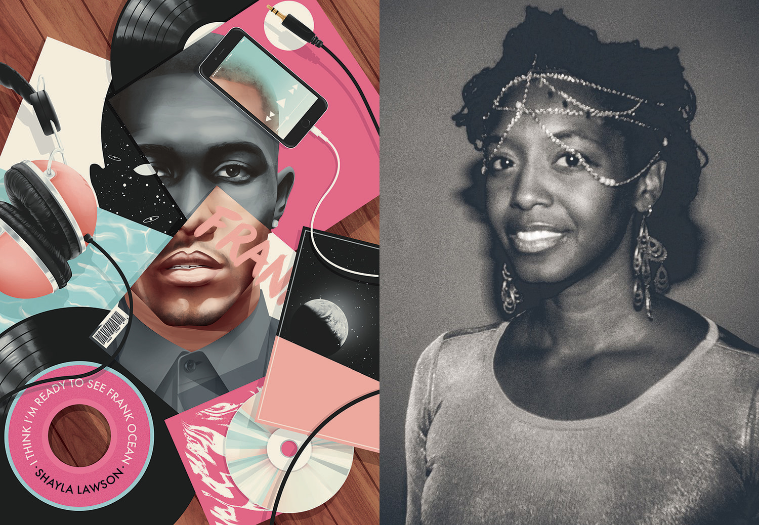 Shayla Lawson book cover and portrait