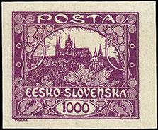 Czech postage stamp