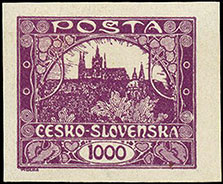 Czech postage stamp