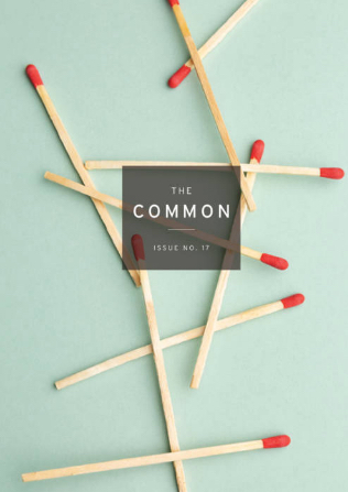 Front cover the The Common literary magazine