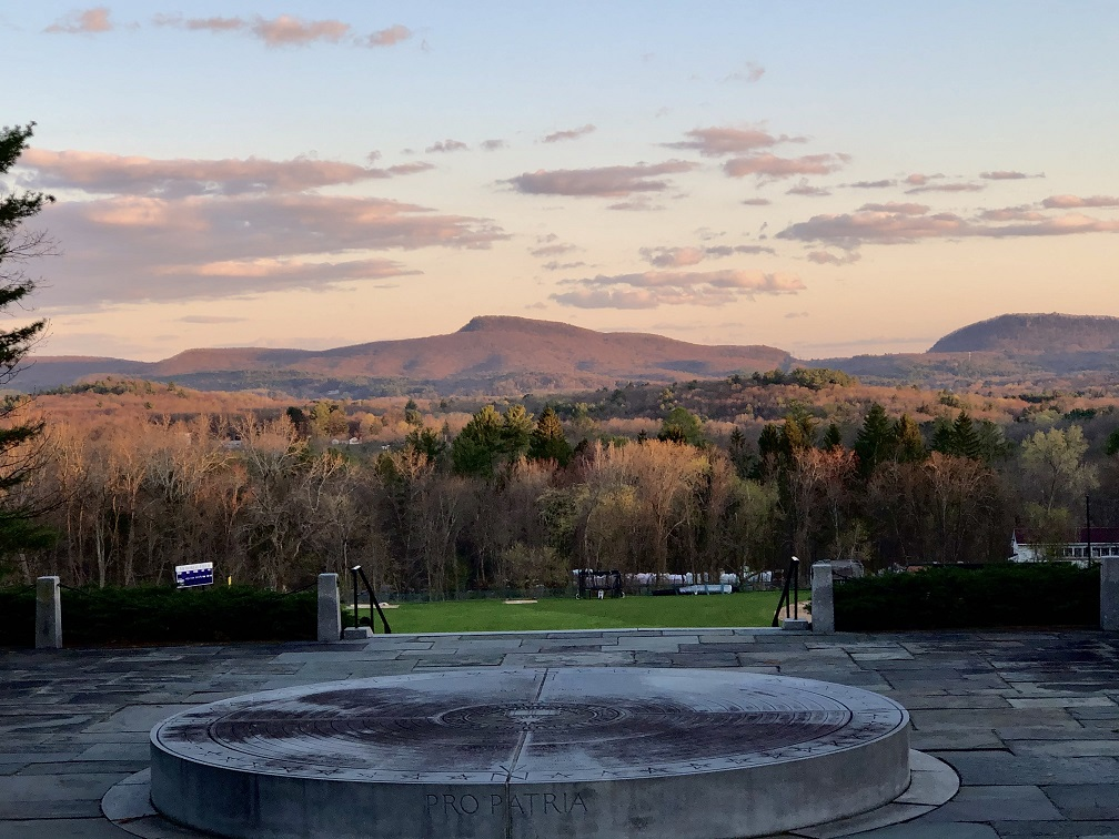 View from Memorial Hill