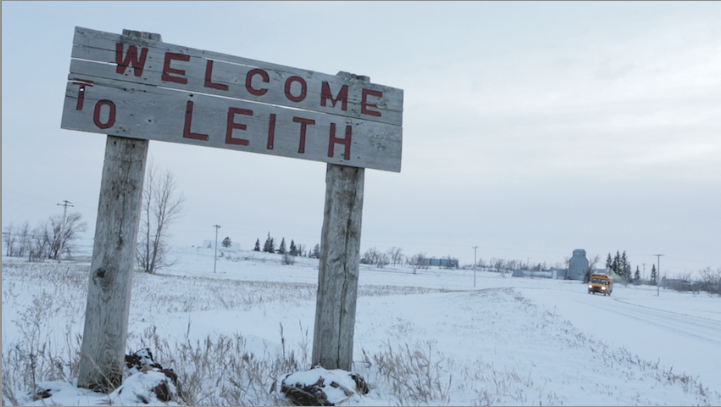 Welcome to Leith Sign