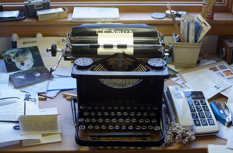 Richard Wilbur's typewriter
