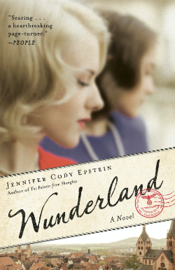 A movie poster titled Wunderland with two woman in side profile