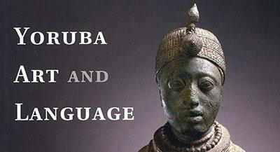 Yoruba Art and Language (cover detail)