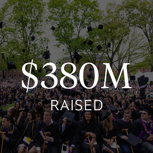 $380 million raised