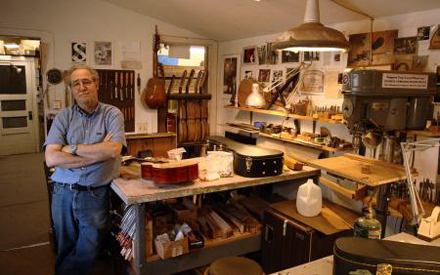 William Cumpiano, master luthier, in his workshop.jpg