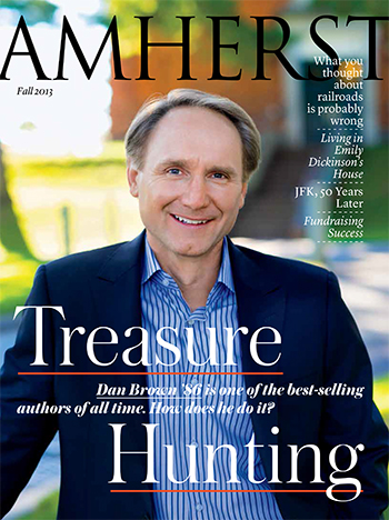 Amherst Fall 2013 magazine cover