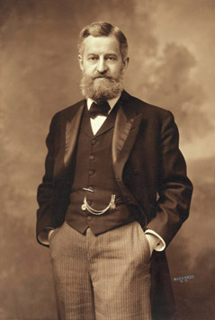Portrait of Henry Clay Folger, Amherst College class of 1875