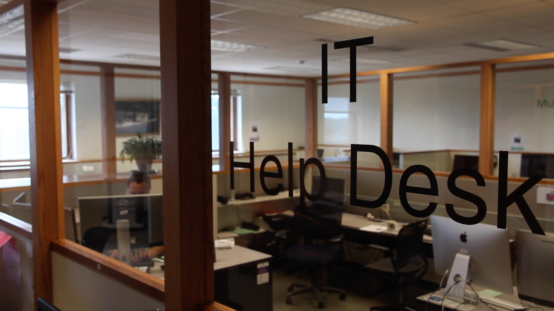 The IT Help Desk