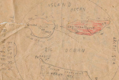Nelson brothers' map