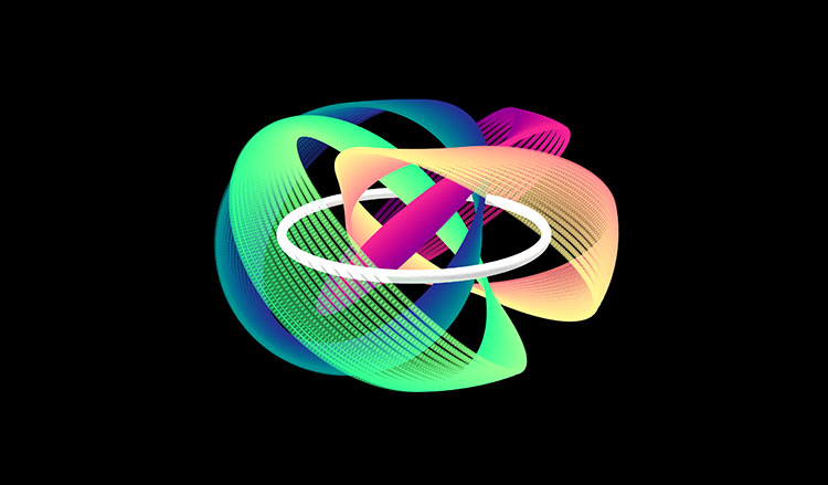 quantum knot illustration