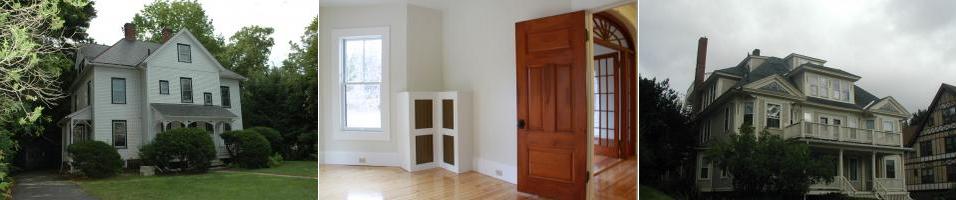 Various views of rental properties