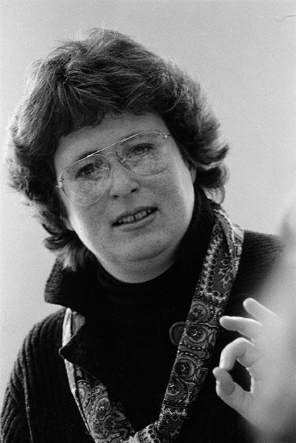 Portrait of Eve Sedgewick