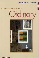 A Politics of the Ordinary cover
