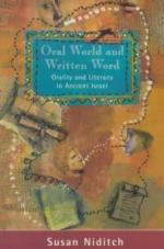 Oral World and Written Word (Library of Ancient Israel) cover