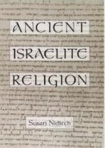 Ancient Israelite Religion cover