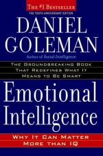 Emotional Intelligence: Why It Can Matter More Than IQ (10th Anniversary Edition) cover