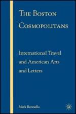 The Boston Cosmopolitans: International Travel and American Arts and Letters cover
