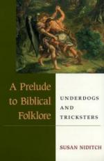 A Prelude to Biblical Folklore: Underdogs and Tricksters cover