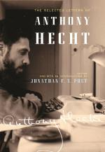 The Selected Letters of Anthony Hecht  cover
