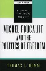 Michael Foucault and the Politics of Freedom cover