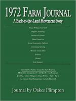 1972 Farm Journal: A Back-to-the-Land Movement Story cover