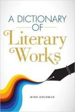 A Dictionary of Literary Works cover