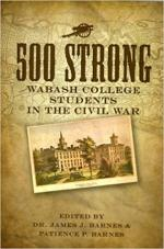 500 Strong: Wabash College Students in the Civil War cover